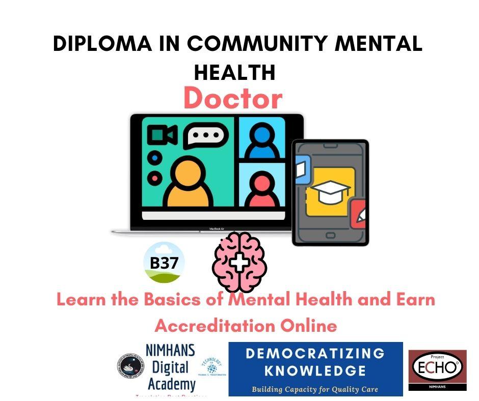 Upcoming: B37:Doctors Dip Community Mental Health