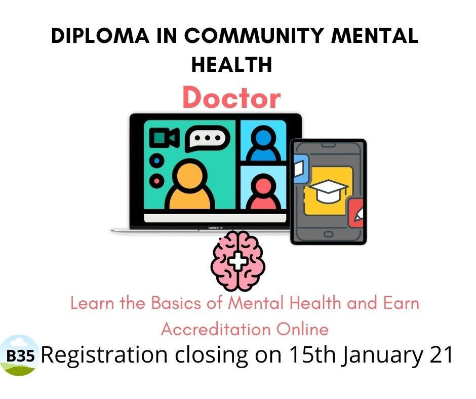 Completed B35: Doctor: Diploma in Community Mental Health