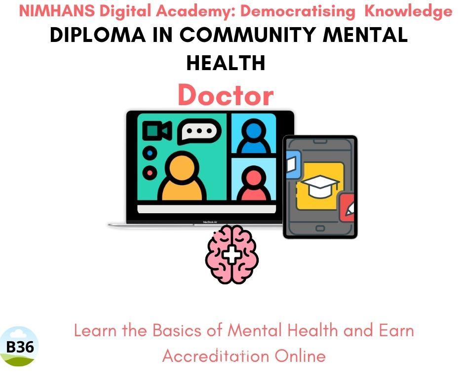 Currently running B36: Doctor: Diploma in Community Mental Health v2.0
